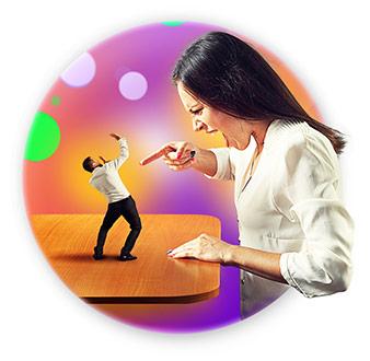 Как громко можно кричать на клиента?