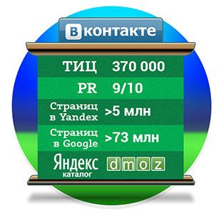 SEO-характеристики ВКонтакте