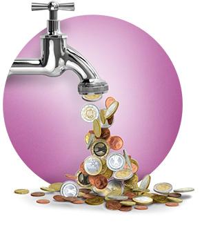 Откройте кран повышения прибыли