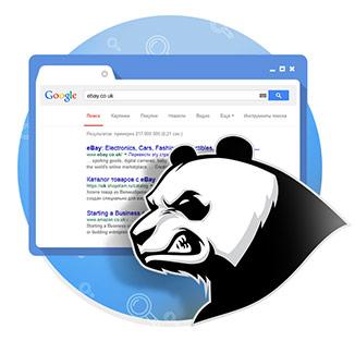 Суровая Панда от Гугла