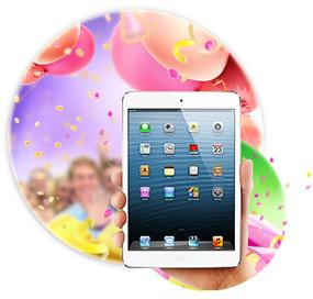 Розыгрыш iPad Mini завершен